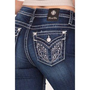 Miss Me Angel Wing Skinny Jeans